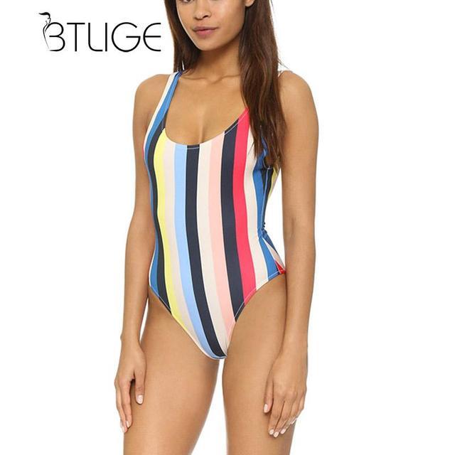 btlig sexy high cut trikini bathing swimming suit for women plus