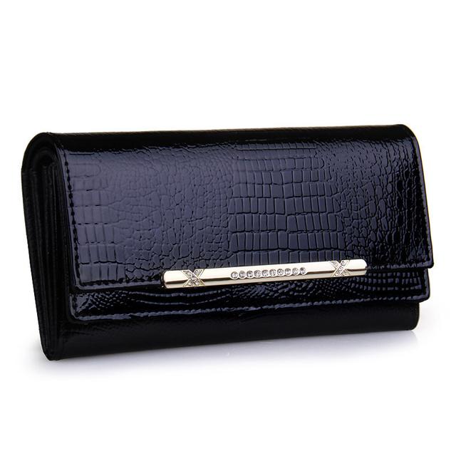 Portefeuille Cléa en cuir pour femmes