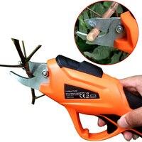 RDDSPON Elektrische Rebschnitt Schere 10mm 3 6 V Li Ion Batterie Geeignet Für Obst Baum Zweige Beschneiden Garten Beschneiden Schere ET1505-in Heckenschere aus Werkzeug bei
