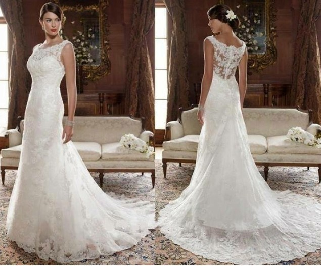 Online Buy Wholesale Wedding Dresses Vintage Style From