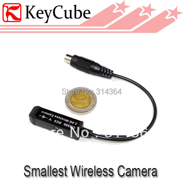 Smallest 2.4GHz wireless mini camera tiny camera wholesale price built-in Mic Cam CM200 Free Shipping