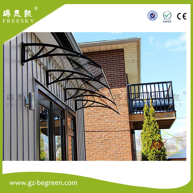YP60160 60x160cm 60x240cm 60x320cm freesky garden decoration sun shelter balcony awnings polycarbonate awnings