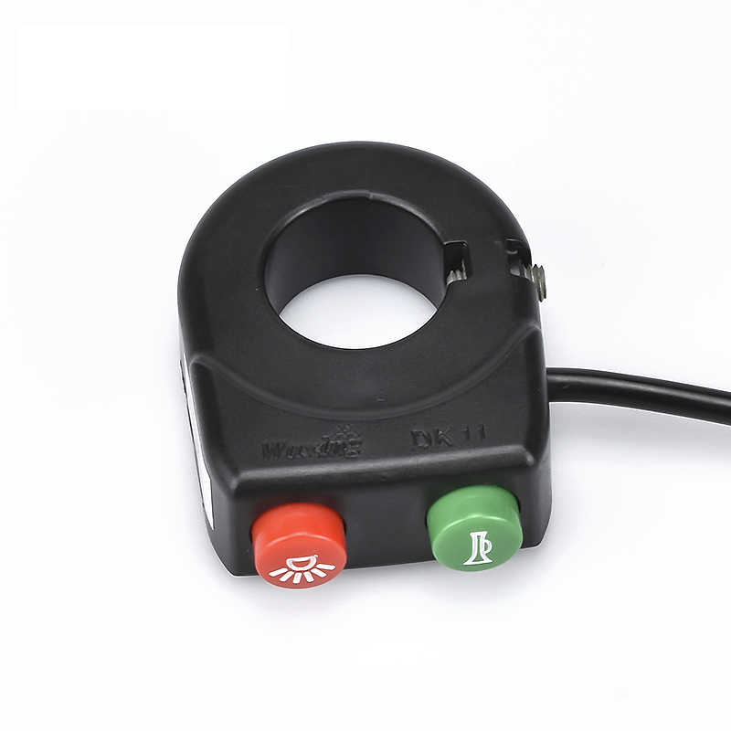 Wholesale WUXING Finger Switch With Buttons For Light And Voice Thumb Throttle Control Universal Ebike Accessories Switches