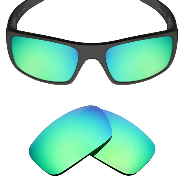 de7f4561159 Mryok+ POLARIZED Resist SeaWater Replacement Lenses for Oakley Crankshaft  Sunglasses Emerald Green