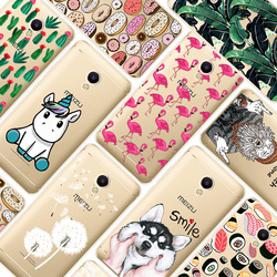 Case For Meizu M5S 5.2inch Transparent Printing Drawing Silicone Phone Cases Cover For Meizu M5S Mini Soft Silicon Cases