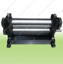 Manual  Beeswax  flat Sheet press roller  mill 75*300mm