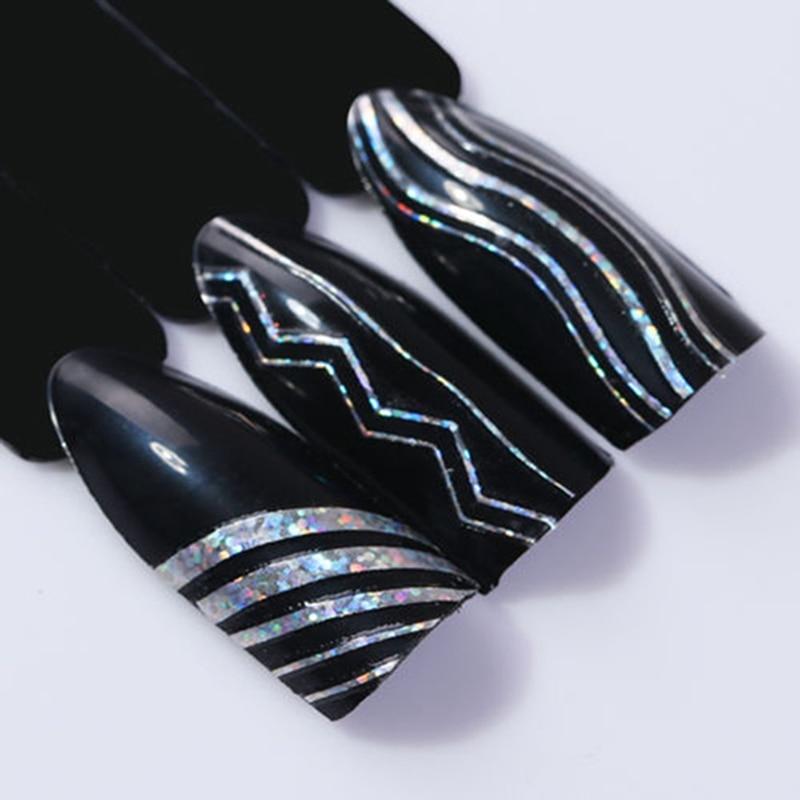 1 Pcs Nail Radium Stripe 3D Nail Oil Glue Phototherapy