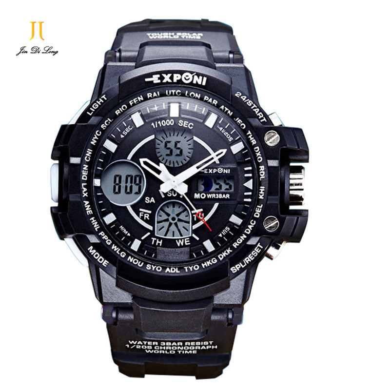 2017 Luxury Brand Men Sports Watches S SHOCK Military Army Digital LED Quartz Watch Wristwatch Relogio Reloj Clock Relojes new listing yazole men watch luxury brand watches quartz clock fashion leather belts watch cheap sports wristwatch relogio male