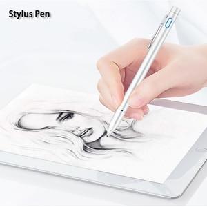 "Image 1 - פעיל עט Stylus קיבולי מגע מסך עבור Lenovo Tab 4 10 בתוספת TB X704L X304L tab4 8 8.0 בתוספת 10.1"" tablet PC מקרה ציפורן 1.35mm"