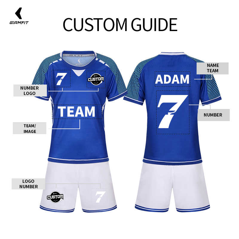 9652c9757dd ... Camisetas de fútbol para niños 2019 Francia Jersey de fútbol camiseta  de fútbol personalizado de manga ...