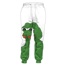 LiZhiYang 3D print Men Women Funny casual funny cute frog Pants Fashion Clothes Sweatpants Autumn Fall Winter Style Trousers