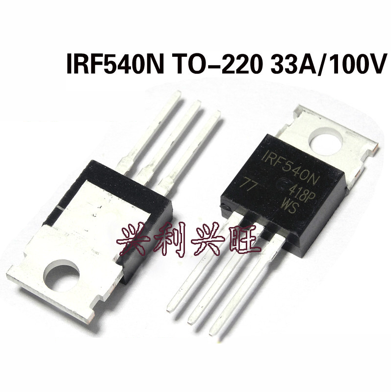 1PCS IRF540NPBF IRF540N IRF540 TO-220 100V 33A MOS Transistor N Channel New Original