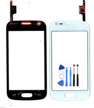 El Envío Libre para Samsung Galaxy Ace S7270 3 S7272 S7275 Pantalla Táctil Digitalizador Del Sensor Frontal Lente de Cristal Del Panel