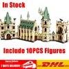 DHL LEPIN 16030 1340Pcs Creative Movies The Hogwarts Castle Set Children Educational Building Blocks Bricks Toys