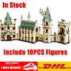 DHL LEPIN 16030 1340Pcs Creative Movies The Hogwarts Castle Set Children Educational Building Blocks Bricks Toys