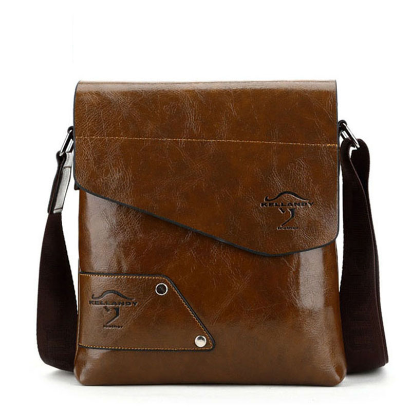 Men bag 2016 famous designer Kangaroo high quality men messenger bag dollar price luxury top pu leather bag men Briefcase V6