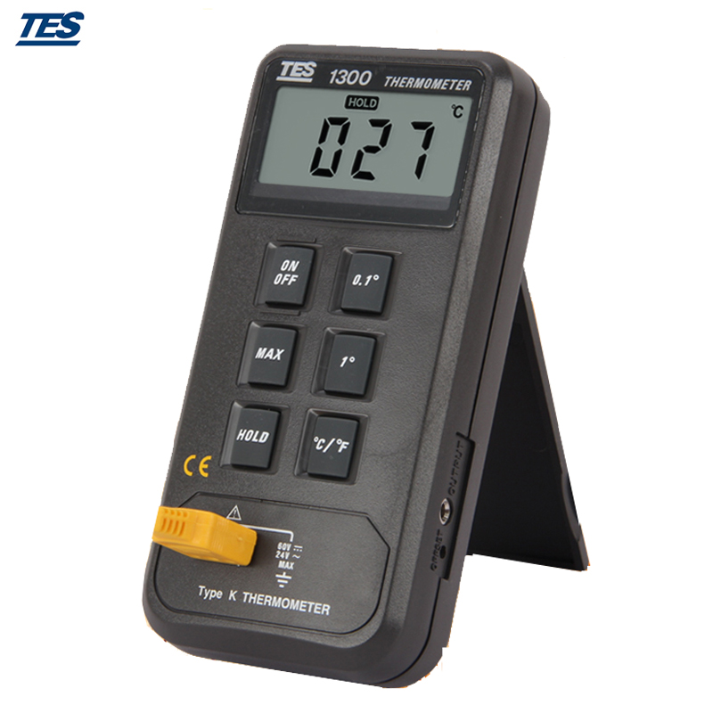 Portable TES 1300 Digital Thermocouple K Type Thermometer