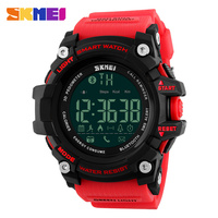 SKMEI Men Smart Watch Pedometer Calories Chronograph Fashion Sport Watches Chronograph 50M Waterproof Digital Wristwatches 1227