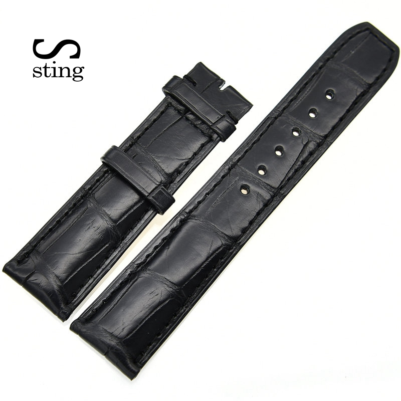 Customized Design 20 22mm Watchband For Baume & Mercier Men Watch Strap No Buckle laura mercier lm 14 7ml