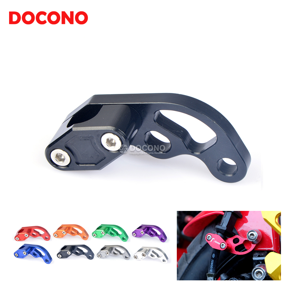 Useful Clutch Brake Wire Holder Motorcycle Line Clamp Pipe Clamp Practical New F