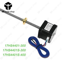 Nema17 17HS4401 stepper motor with T8 screw lead 8mm 300/400mm 42 motor 42BYGH 3D Printer motor