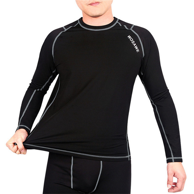Thermal Fleece Base Layer Cycling Clothing long sleeve Winter Bicycle Clothes Men Women MTB Bike Underwear Cycling Base Layer