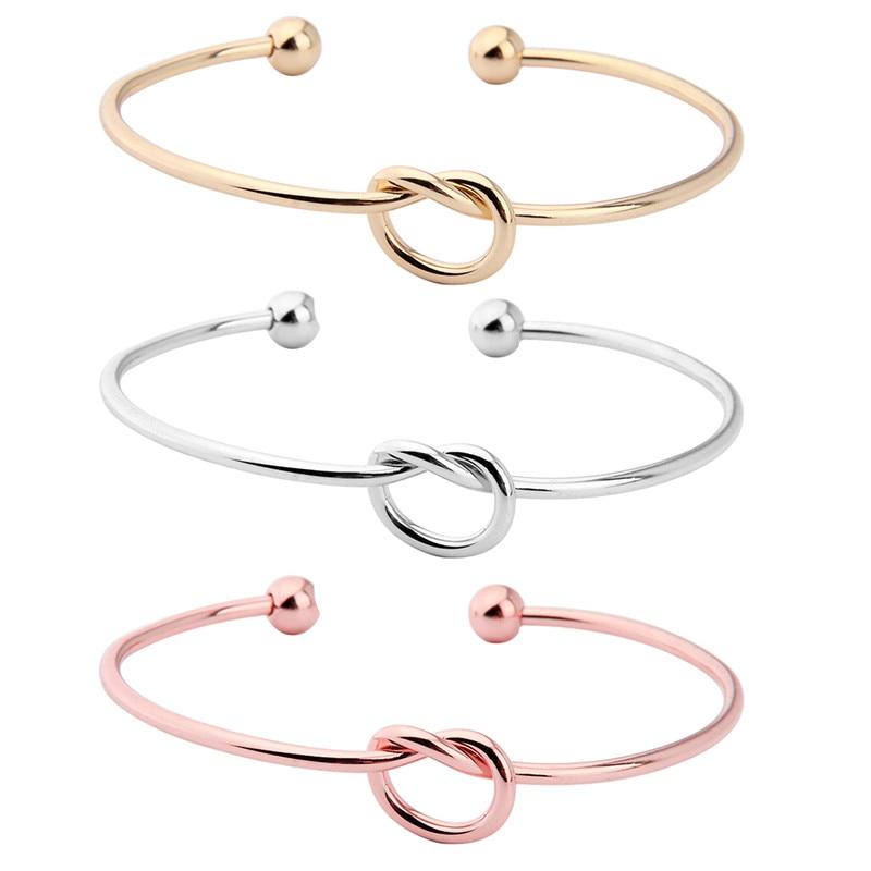 Fashion Love Knot Bracelets Bangles