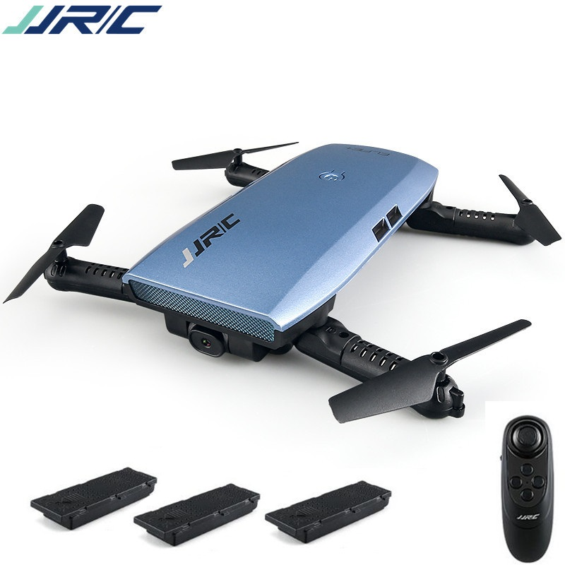 (Total 3 batteries ) JJRC H47 H47WH ELFIE Plus 720P Camera Upgraded Foldable Arm Drone w/ Gravity Sensing G-Sensor Control jjr c jjrc h43wh h43 selfie elfie wifi fpv with hd camera altitude hold headless mode foldable arm rc quadcopter drone h37 mini