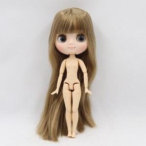 Image 4 - Middie blyth poupée nue 20cm corps commun visage givré avec maquillage yeux gris cheveux doux nouvelles promos bricolage jouets cadeau avec gestes