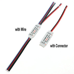Image 2 - RGBW LED Amplifer DC5 24V 4A * 4 ช่องLED AmplifierสำหรับRGBW LED Strip Power RepeaterคอนโซลController.