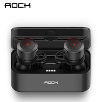 ROCK Mini Wireless Bluetooth Earphone EB10 TWS Stereo With Mic Universal Wireless Handsfree Earbuds For Iphone