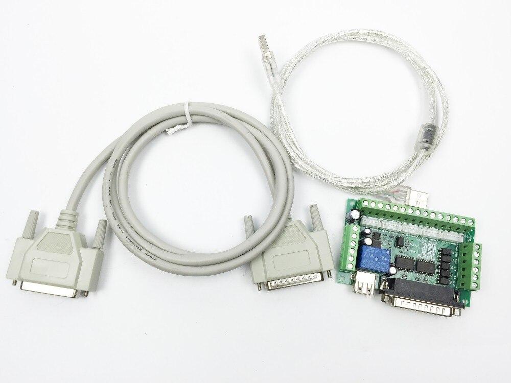 5 осевое Breakout совета для шагового драйвера контроллера Mach3 для Arduino