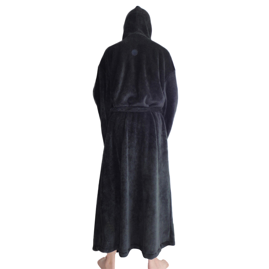 Costumes, Reenactment, Theater Star Wars Jedi Knight Bath Robe For Man Black Clothing, Shoes & Accessories