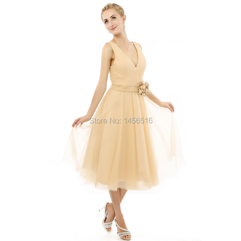 3ede06486969 Party homecoming dresses short 2019 A line V neck Chiffon Real ...