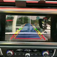 2019 Q3 Full HD Video Decoder for AUDI 8.8 OE Display Support Rear View/Dashboard Camera Obstacle Parking Sensor 360