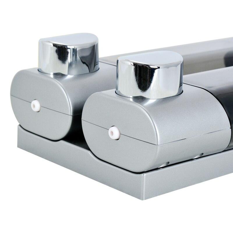 Image 3 - Диспенсер для жидкого мыла настенный 300 мл пластиковый гель для  душа диспенсеры для шампуня дезинфицирующее средство для рук Домашняя  Кухня Аксессуары для ванной комнатыДозаторы жидкого мыла   -