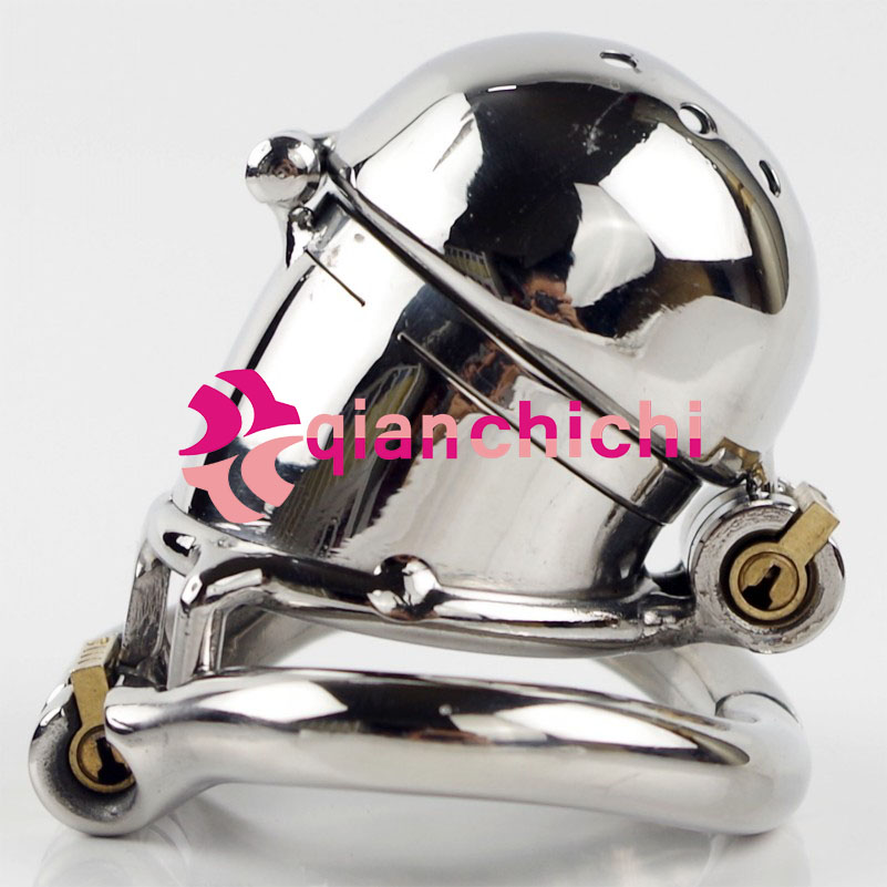 Male Chastity Device Stainless Steel Chastity Belt with new Bolt-Cage stainless steel male chastity