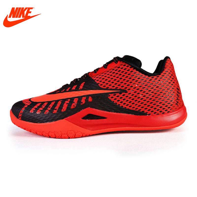 Original New Arrival NIKE Men's Breathable Basketball Shoes Sport Sneakers nike original 2016 new arrival hyperlive ep mens basketball shoes breathable professional sneakers for men 820284 011