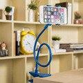 1 Unidades Universal Lazy bracket azul Cama del Escritorio del Sostenedor Del Soporte Del Teléfono Celular del Soporte Flexible Para Cada Uno de los Modelos de Teléfono