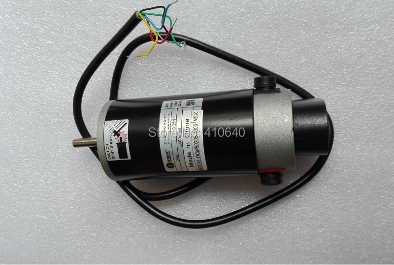 Leadshine dcm57205 80w brushed servo motor with 4000 rpm for 1000 rpm dc motor
