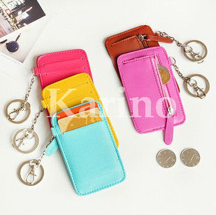 free shipping whole card wallet bank credit holder - Card Holder With Keyring