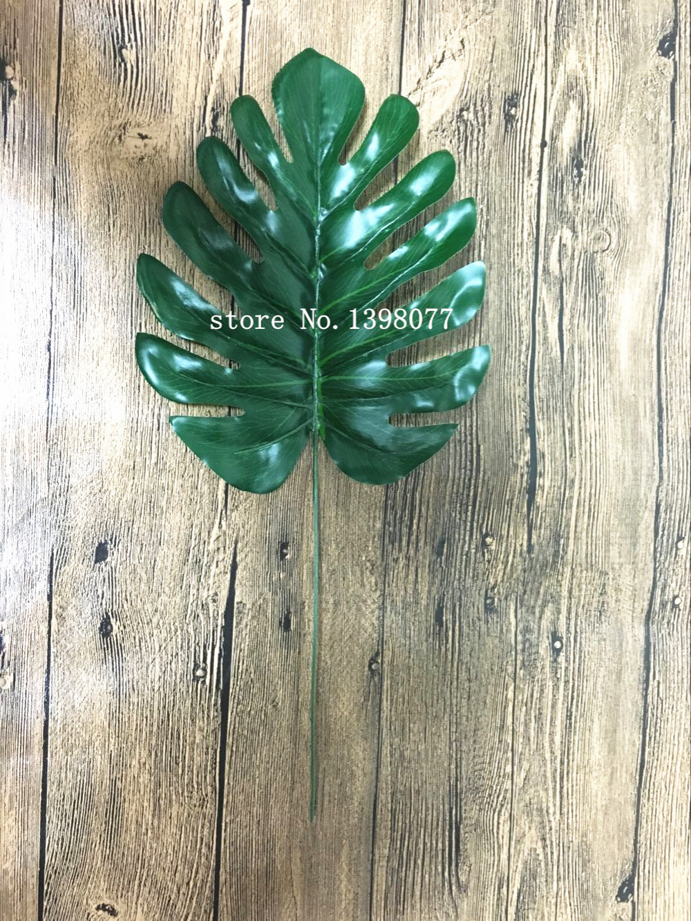 Artificial Monstera Leaf Flower Arrangement DIY Source