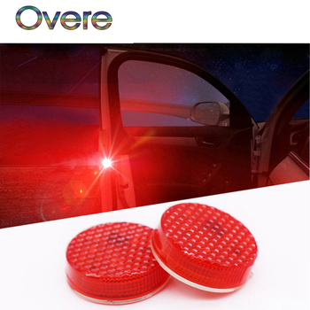 Overe Auto LED Strobe Light Car door Warning Lamp For Mercedes W205 W203 W211 Volvo XC90 S60 XC60 S80 V40 Alfa Romeo 159 156 image