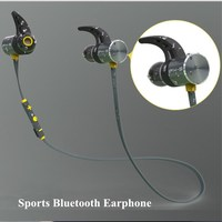 Plextone BX343 Bluetooth 4 1 Headset IPX5 Waterproof Stereo Magnet Earbuds HD Mic Earphone For Phones