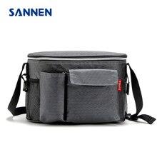 Sannen 8L Оксфорд тепловой обед сумки для женщин взрослых мужчин пищевых Пикник сумка изолированные контейнер для хранения w/ мешок бутылки
