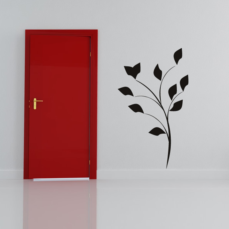 Eco Friendly Art Simple Tree Branch Wall Sticker Home Decor Hot Design Wall  Mural For Near The Door In Wall Stickers From Home U0026 Garden On  Aliexpress.com ... Part 15