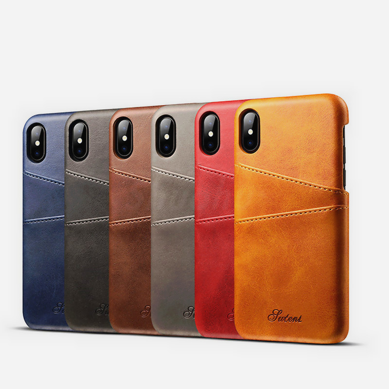 XINMANROU Luxury Phone Cases for iPhone 7 6 6S Case Leather Wallet Soft Shockproof Protective for iPhone X 8 Plus Case Cover