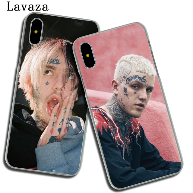 Lavaza Lil Peep Lil Bo Peep Hard Phone Cover Case for Apple iPhone XR XS Max X 8 7 6 6S Plus 5 5S SE 5C 4S 10 Cases 7Plus 8Plus