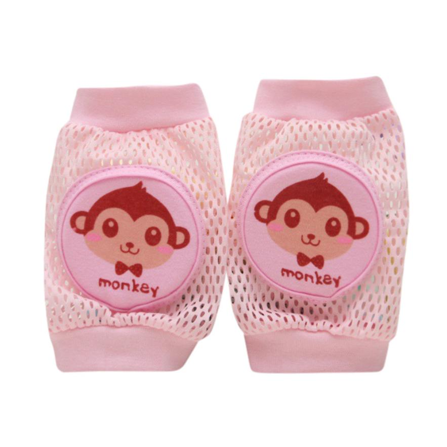 Cartoon Baby Safety Crawling Elbow Cushion Toddlers Knee Pads Protective Gear Little Monkey  Aug 15