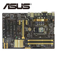 LGA1150 DDR3 Z87 Per ASUS Z87-k 100% Originale Motherboard32G Z87K Desktop di Mainboard scheda Madre USB3.0 SATA III VGA OC Utilizzato
